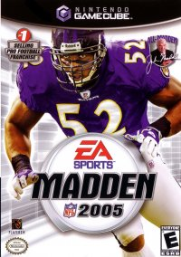 Обложка Madden NFL 2005
