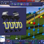 Скриншот Hyper Rails: Advanced 3D Roller Coaster Design – Изображение 8