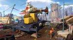 Герои Sunset Overdrive собирают вертолет на кадрах из игры. - Изображение 7