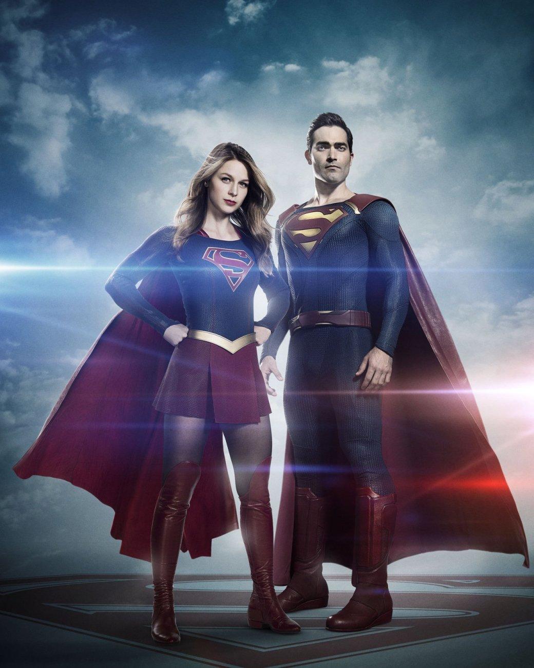 Первое фото: Супермен из «Супергерл» оказался не хуже Кавилла - Изображение 1