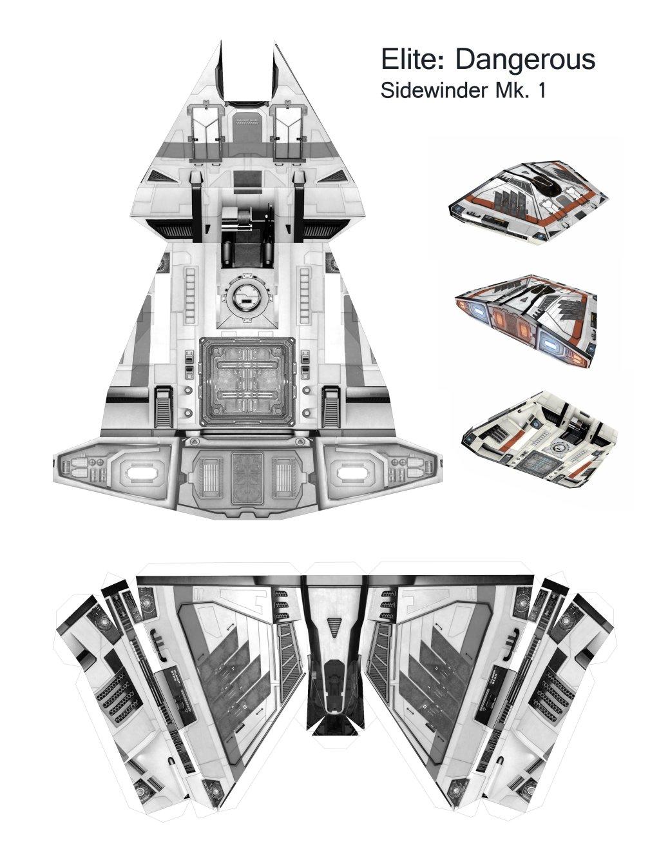 Как сделать из бумаги звёздные войны корабль
