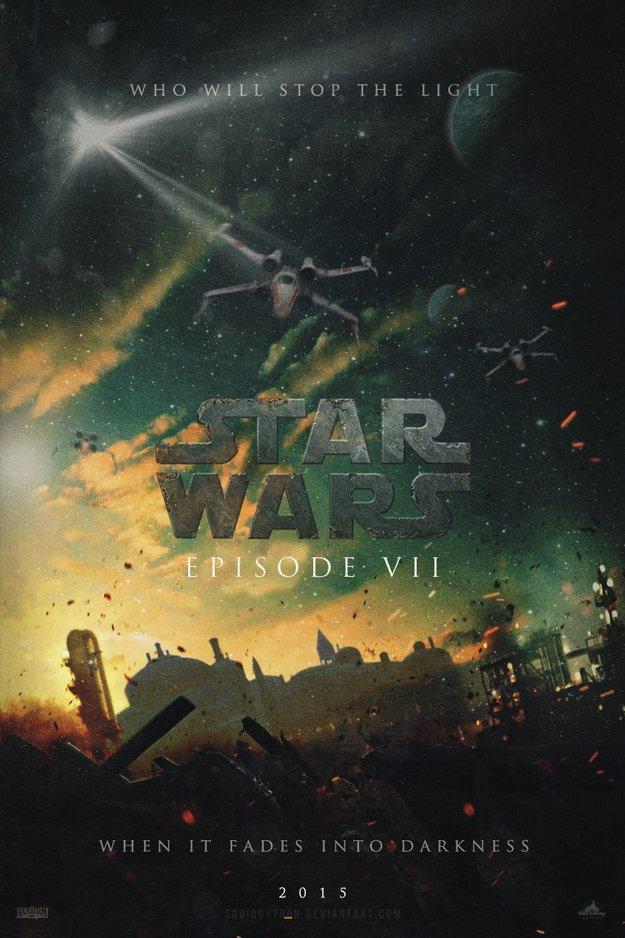 Фанатские постеры Star Wars: Episode VII - Изображение 3