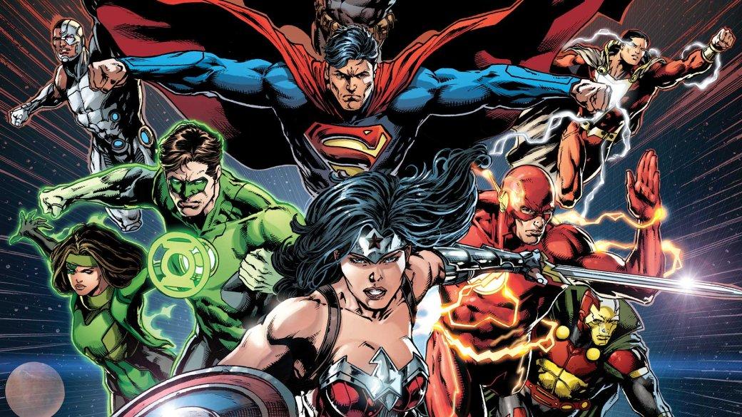 Новый концепт-арт «Лиги справедливости» представил всех героев. - Изображение 1