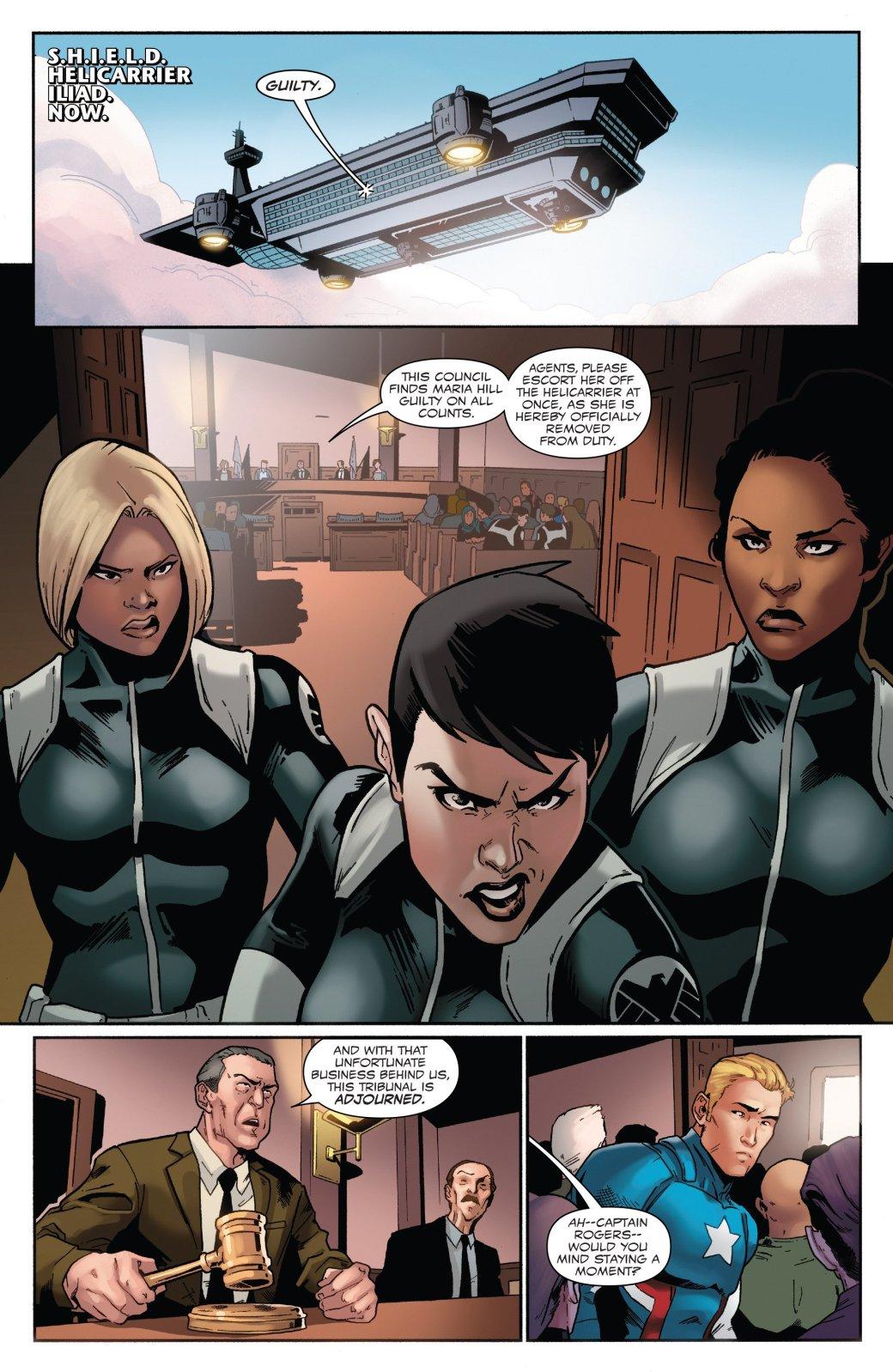 В эпилоге Civil War II Капитан Америка-агент Гидры стал главой ЩИТ - Изображение 3
