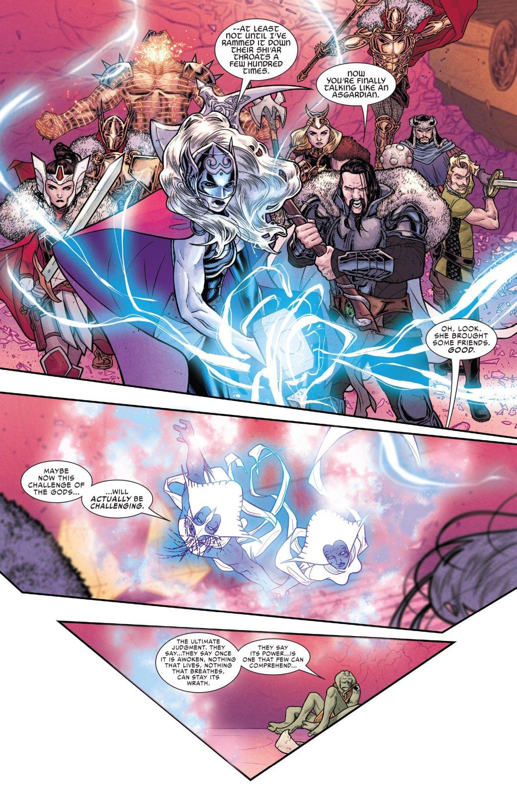 Асгард своих не бросает: боги пришли на помощь похищенной Тор - Изображение 4