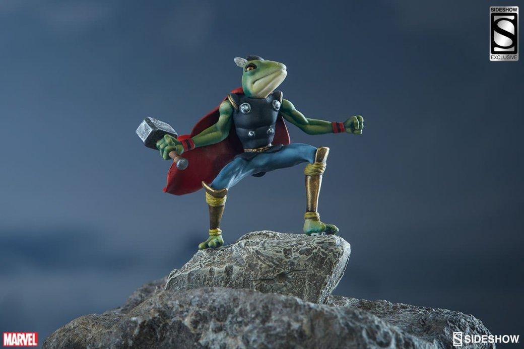 Вместе с новой фигуркой бога Грома вы получите статую лягушку-Тора - Изображение 10