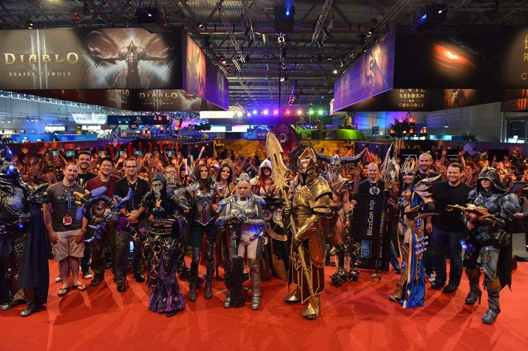 Лучшие костюмы со стенда Blizzard на Gamescom 2013 - Изображение 1