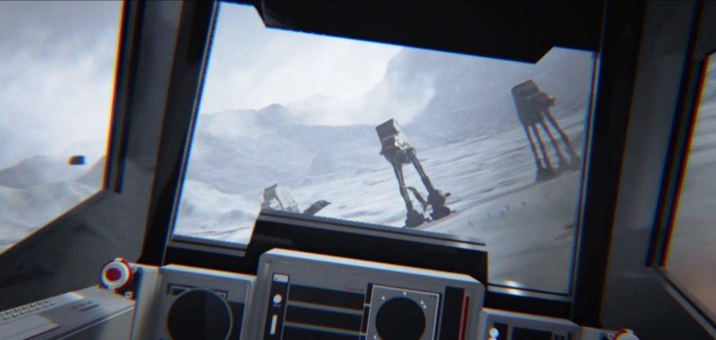 В Star Wars VR для Oculus Rift вас может раздавить AT-AT Walker - Изображение 2