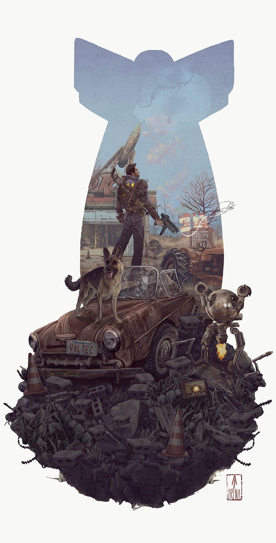Лучший арт мира Fallout - Изображение 40