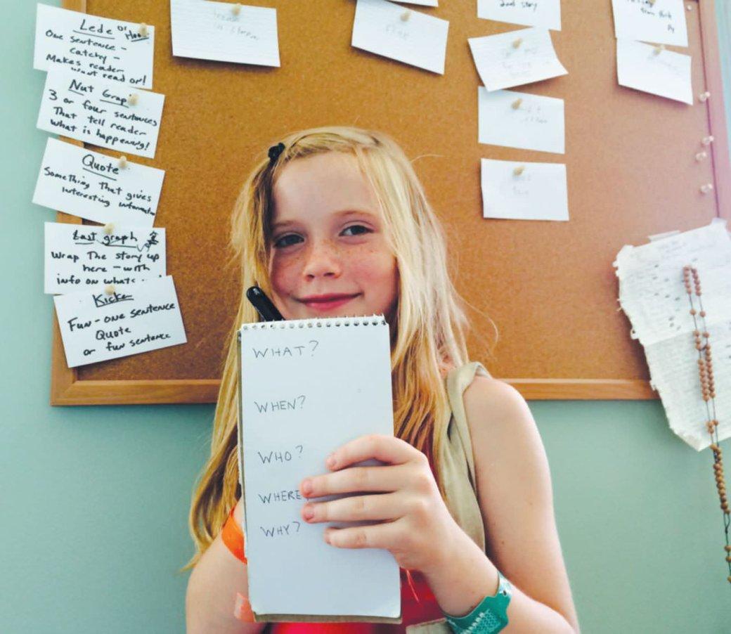 9-летняя девочка написала серию книг и продает права на экранизацию - Изображение 1