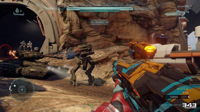 В Halo 5 появится кооперативный PvE режим. - Изображение 1