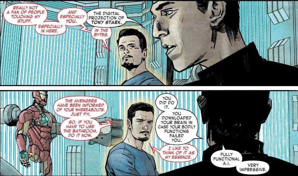 Infamous Iron Man намекает насмерть Тони Старка вкомиксах Marvel - Изображение 3