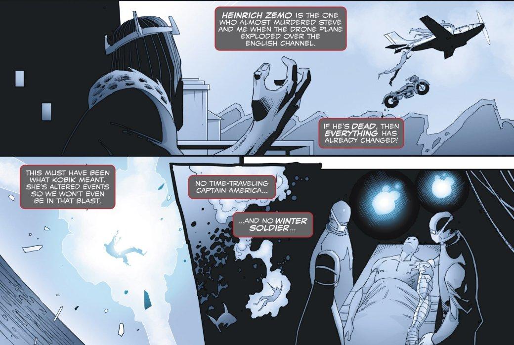 Зимний солдат вернулся в прошлое и узнал правду о Капитане Америка - Изображение 2