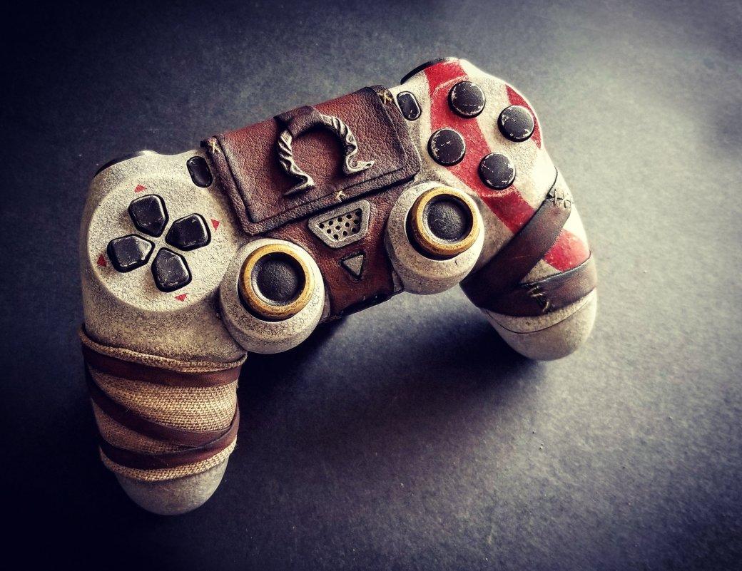 Взгляните напотрясающий DualShock 4 встиле новой God ofWar. - Изображение 3