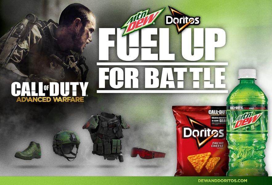 Покупатели Mountain Dew и Doritos получат награды в новой Call of Duty - Изображение 1