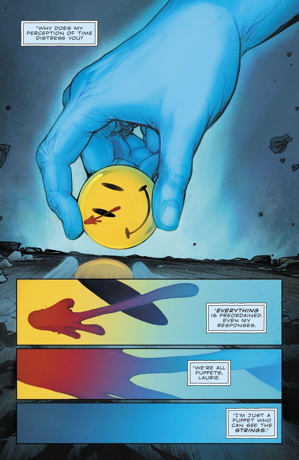 Куда привела Бэтмена и Флэша загадка значка Комедианта? - Изображение 13