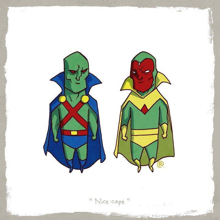 Как Marvel персонажей DC воровала (и наоборот). - Изображение 34