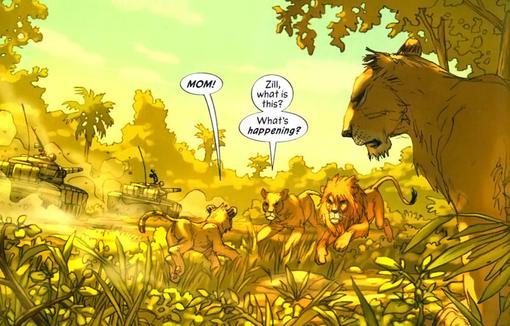 Комиксы: Pride of Baghdad - Изображение 4