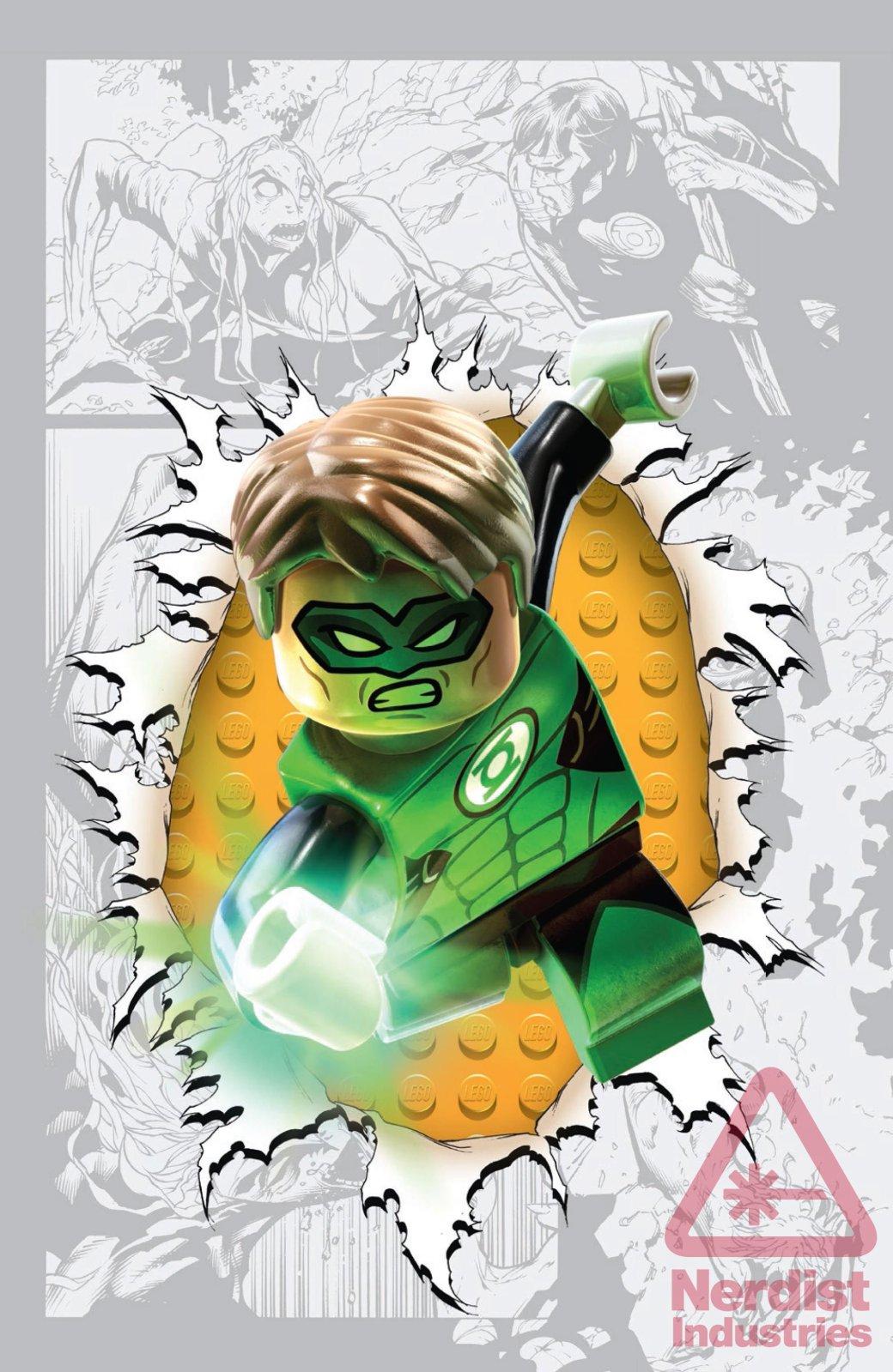 LEGO украшает комиксы DC  - Изображение 12