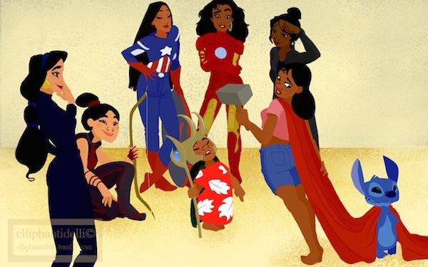 Галерея вариаций: Мстители-женщины, Мстители-дети... - Изображение 24