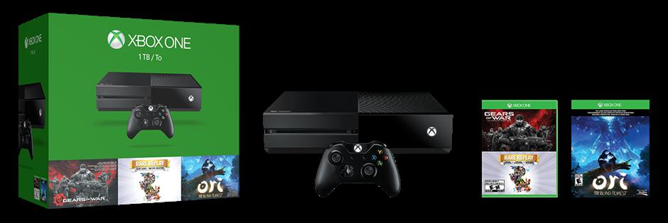 Microsoft анонсировала два праздничных бандла Xbox One 1TB - Изображение 2