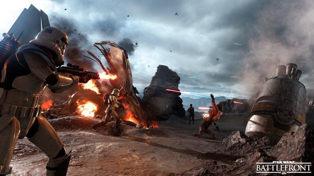 EA огласила дату начала ОБТ Star Wars Battlefront - Изображение 1