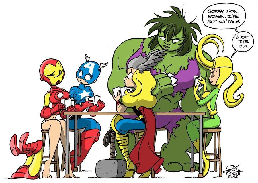 Галерея вариаций: Мстители-женщины, Мстители-дети... - Изображение 5