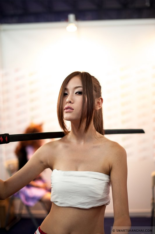 Лучшие девушки самой большой азиатской выставки цифровых развлечений. - Изображение 5