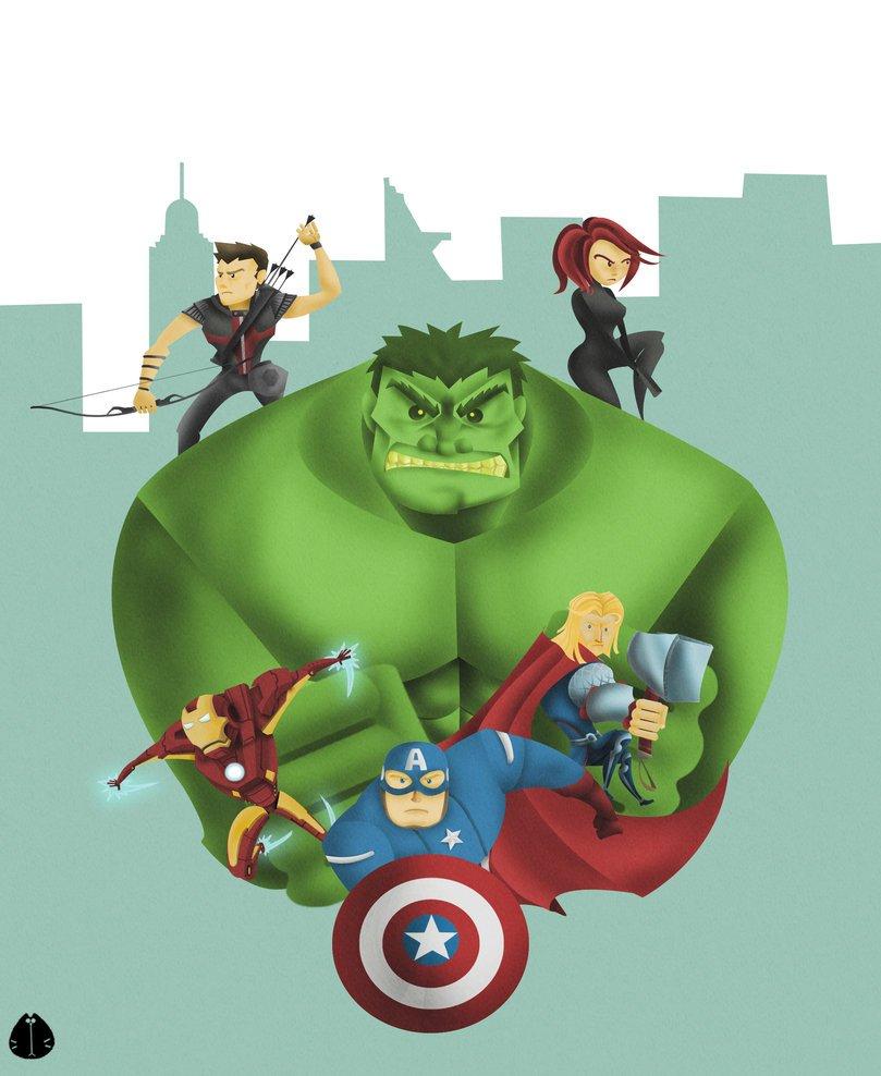 Галерея вариаций: Мстители-женщины, Мстители-дети... - Изображение 190
