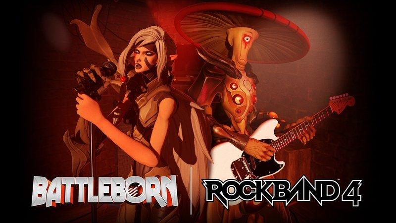 Rock Band 4 получит онлайновый мультиплеер и героев Battleborn - Изображение 1