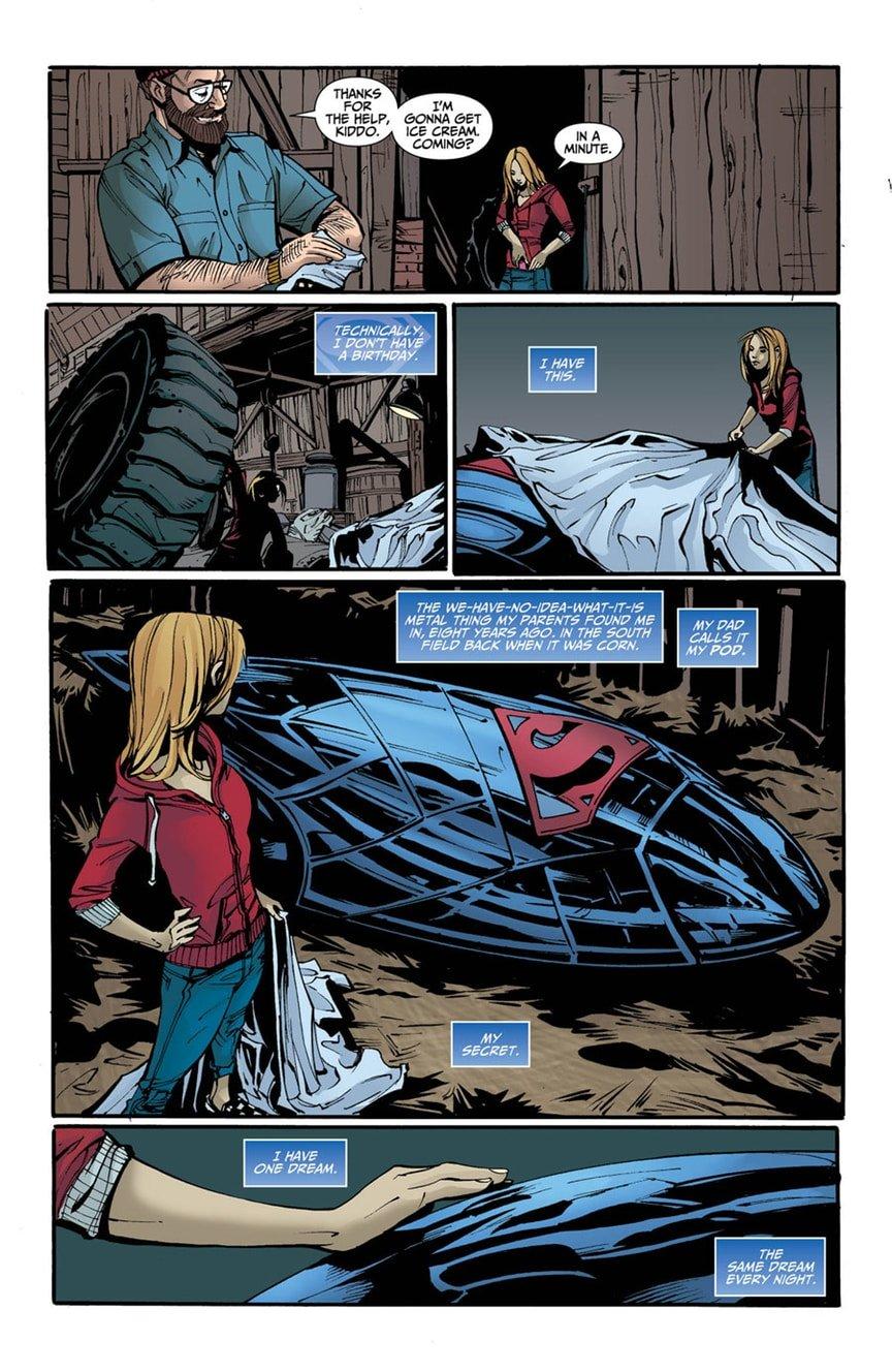 В новом комиксе Супердевушке изменили историю происхождения - Изображение 2