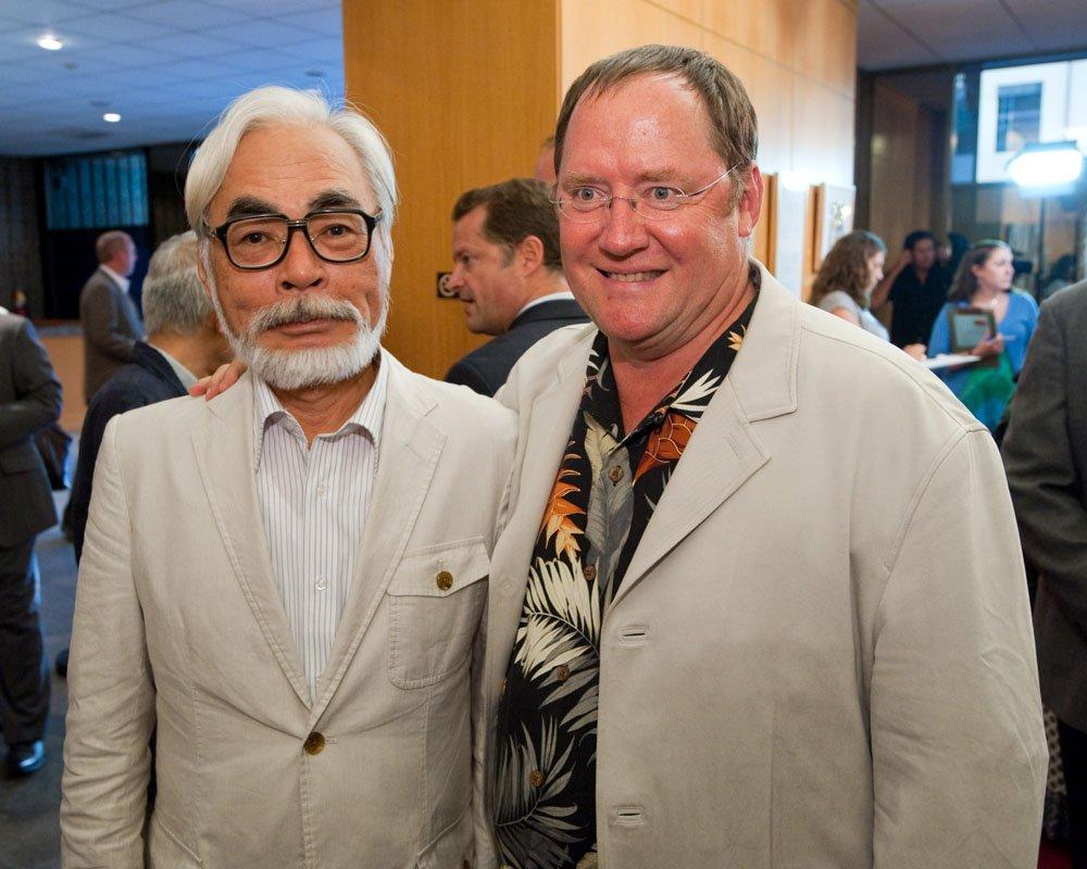 Джон Лассетер рассказал о своей любви к работам Хаяо Миядзаки - Изображение 1