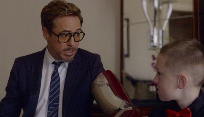 Мальчик-инвалид получил бионическую руку от самого Тони Старка - Изображение 1