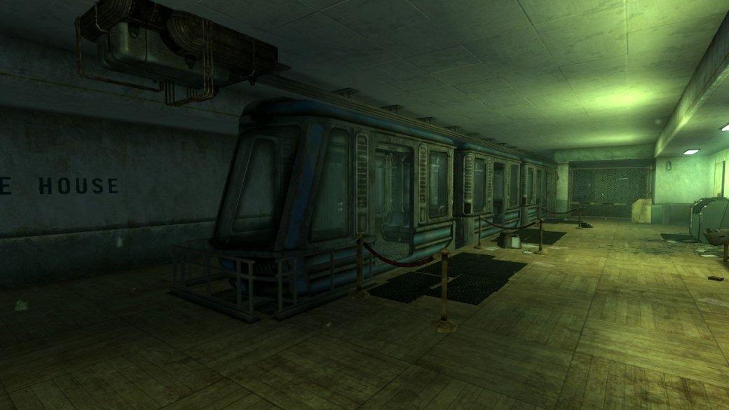 Геймдизайн от бога: в Fallout 3 поезд был «прикреплен» к голове героя - Изображение 2