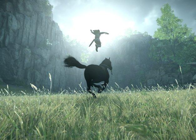 20 изумительных скриншотов Shadow of the Colossus для PS4