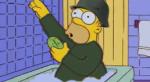 Барт Симпсон ударил Гомера стулом поголове. Идаже это стало мемом!. - Изображение 6