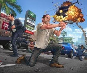 Grand Theft Auto V сумела побить 7 рекордов из книги Гиннеса