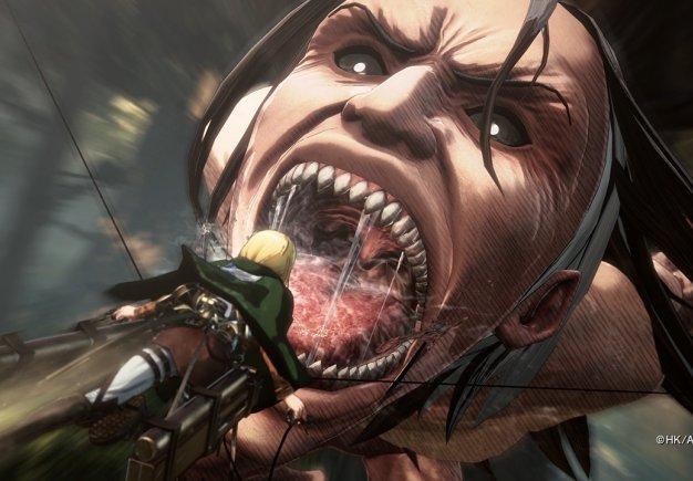 Attack on Titan 2 . Демонстрация мультиплеера
