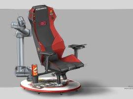 ВРоссии создали геймерское кресло, которое «спасает» игроков отголода