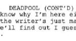 Дональд Гловер выложил 15 страниц сценария мультфильма по«Дэдпулу», вкотором шутит оботмене шоу. - Изображение 3