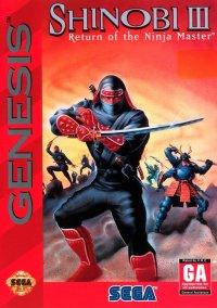 Shinobi III: Return of the Ninja Master – фото обложки игры