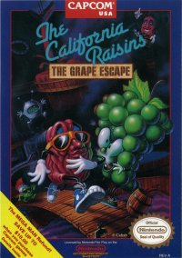 The California Raisins: The Grape Escape – фото обложки игры