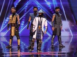 НаAmerica's Got Talent пришли киргизы иисполнили танец встиле Mortal Kombat. Фаталити!