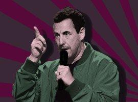 """Адам Сэндлер: «Если мне недадут """"Оскар"""", яснимусь вабсолютно отвратительном фильме»."""