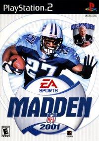 Madden NFL 2001 – фото обложки игры