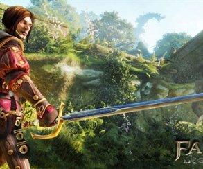 Герой голубых кровей показался на снимке Fable Legends