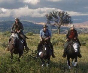 Гифка дня: почему лучше непытаться угнать лошадь вRed Dead Redemption2