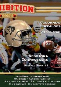 NCAA Football '99 – фото обложки игры