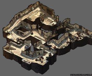 Карты CS:GO в изометрии. Такие бы распечатать на 3D-принтере и использовать на буткемпах