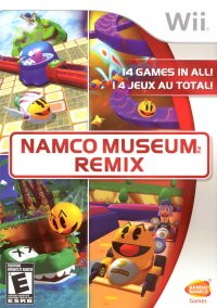 Namco Museum Remix – фото обложки игры